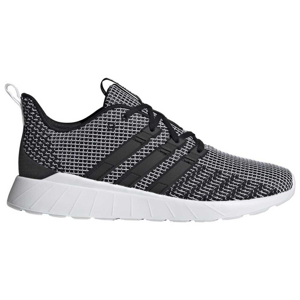Adidas Questar Flow EU 43 1/3 Core Black / Core Black / Footwear White