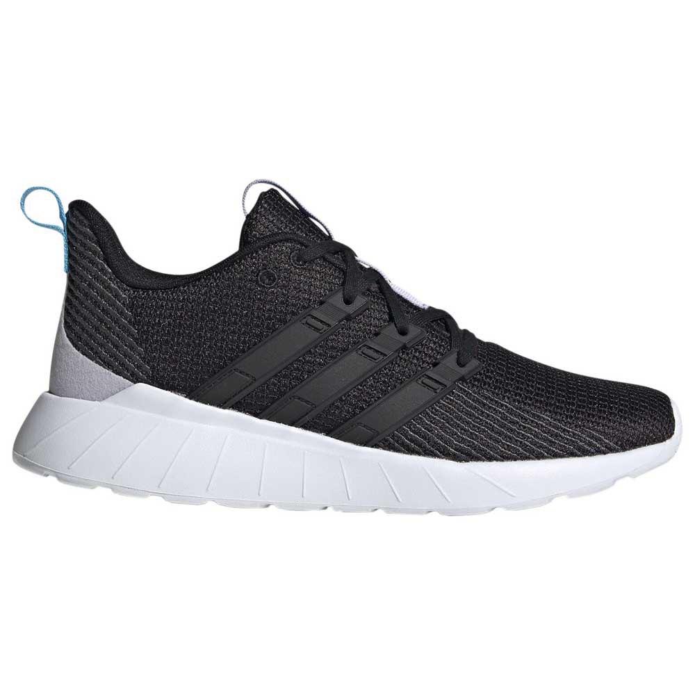 Adidas Questar Flow EU 38 2/3 Core Black / Core Black / Bright Cyan