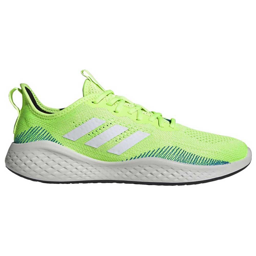 Adidas Fluidflow EU 45 1/3 Signal Green / Footwear White / Glory Blue
