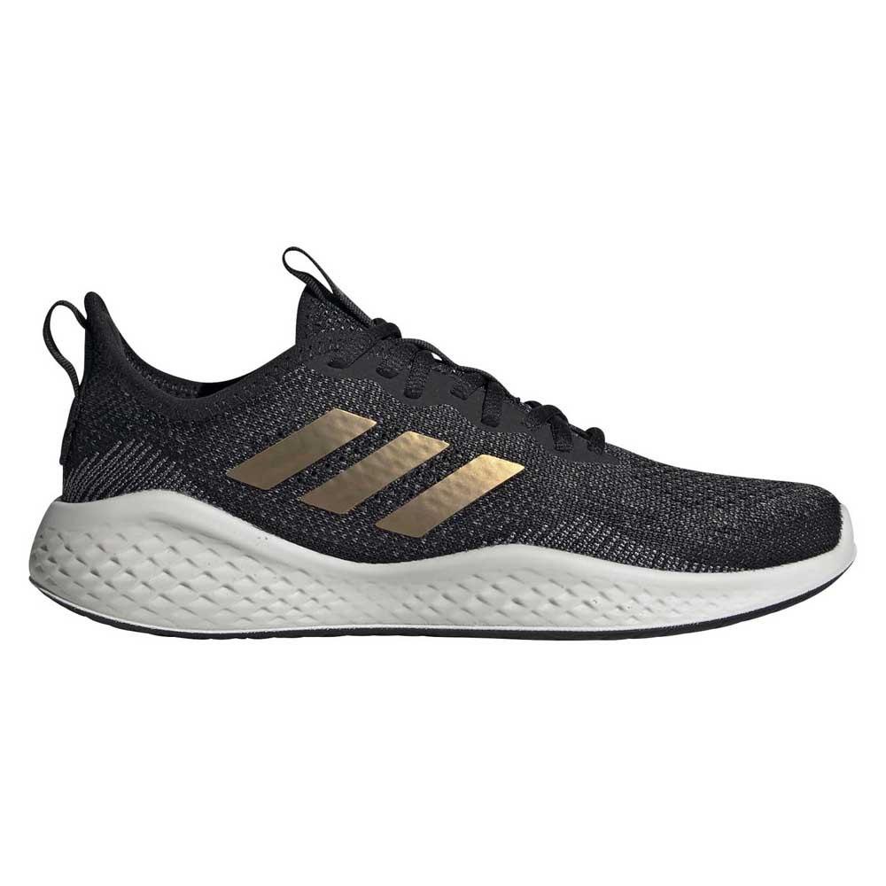Adidas Fluidflow EU 37 1/3 Core Black / Tactile Gold Metal / Grey Six