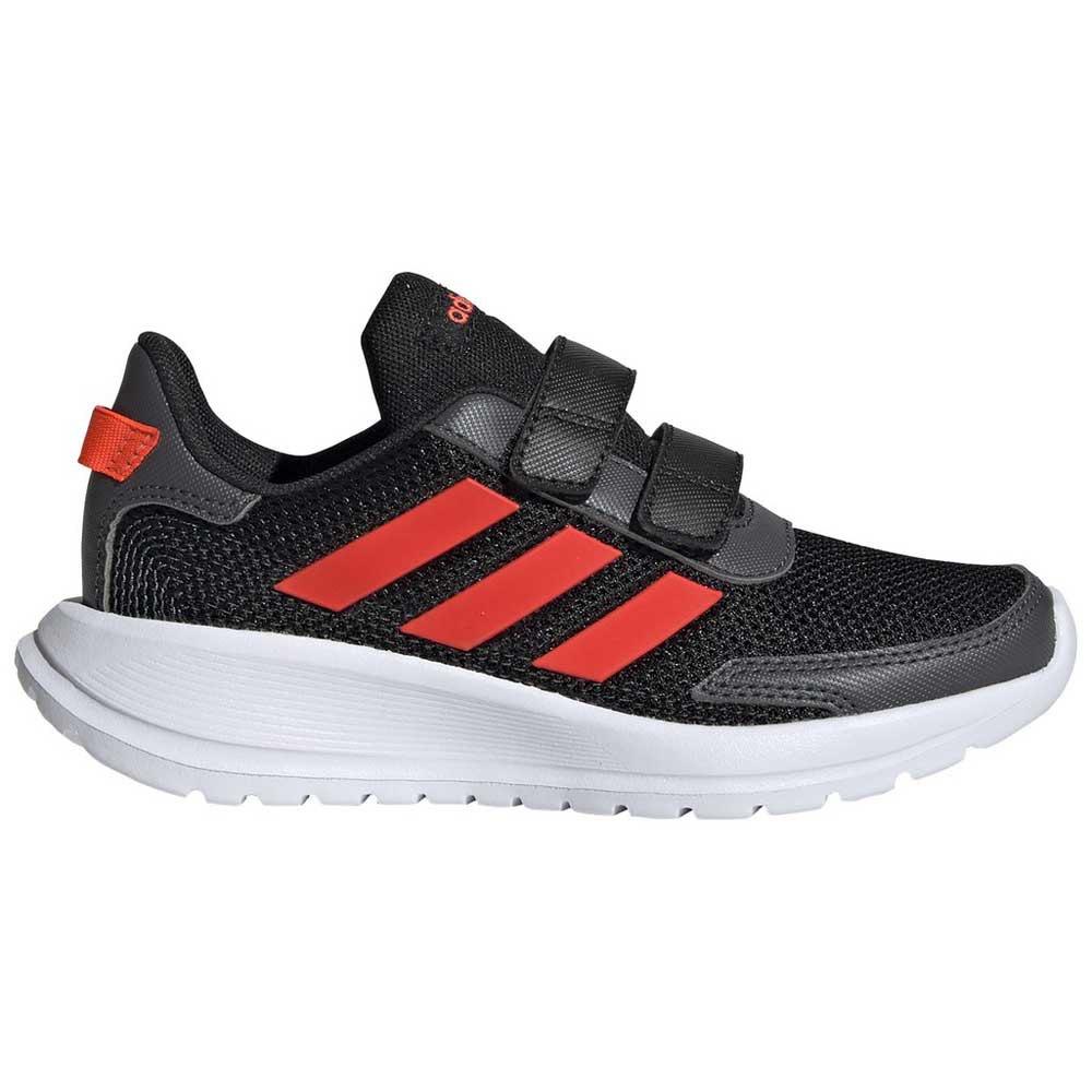 Adidas Tensaur Run Child EU 32 Core Black / Solar Red / Grey Six