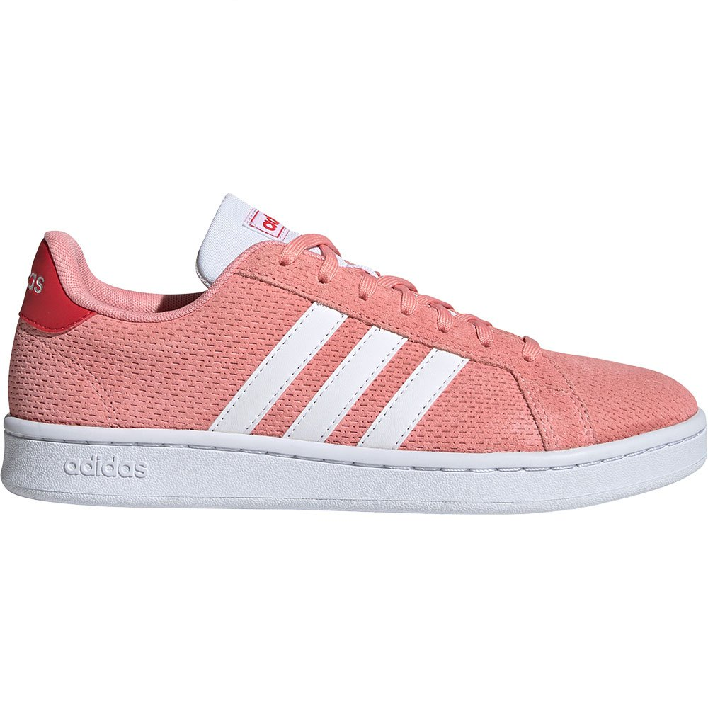 Adidas Grand Court EU 42 Glory Pink / Footwear White / Gloy Red