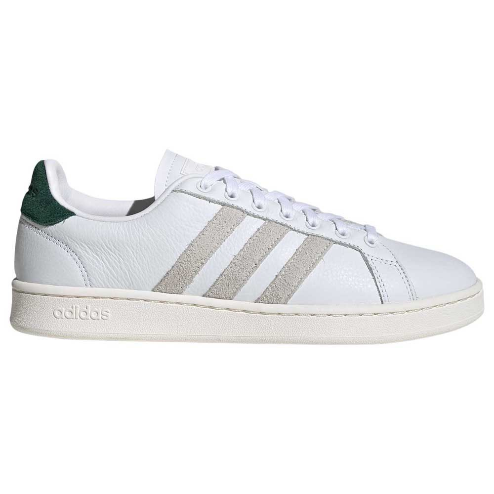 Adidas Grand Court EU 46 Footwear White / Orbit Grey / Core Green