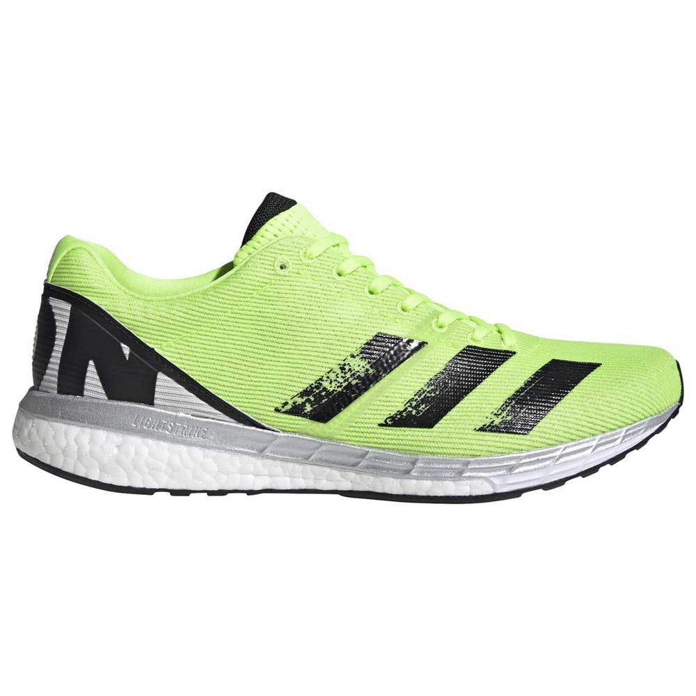 Adidas Adizero Boston 8 EU 42 2/3 Signal Green / Core Black / Grey One