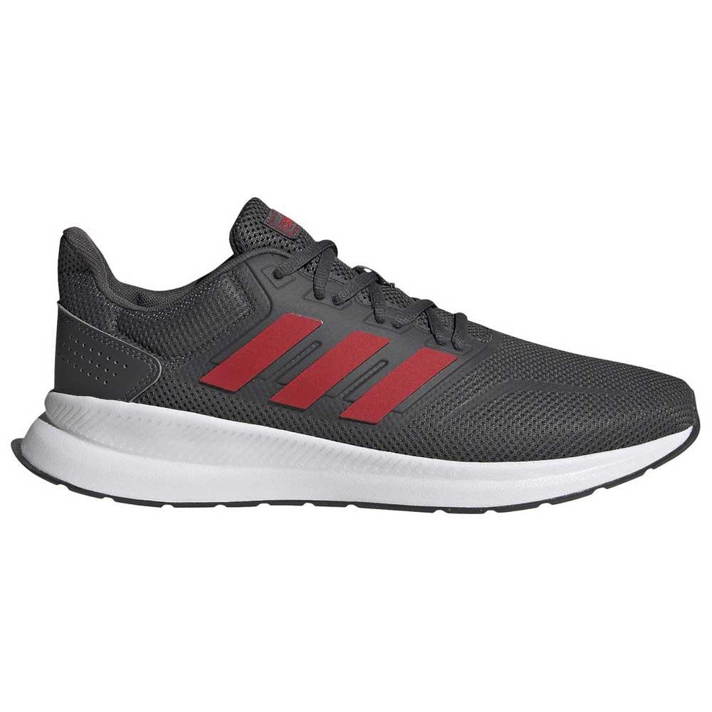 Adidas Runfalcon EU 41 1/3 Grey Six / Scarlet / Footwear White