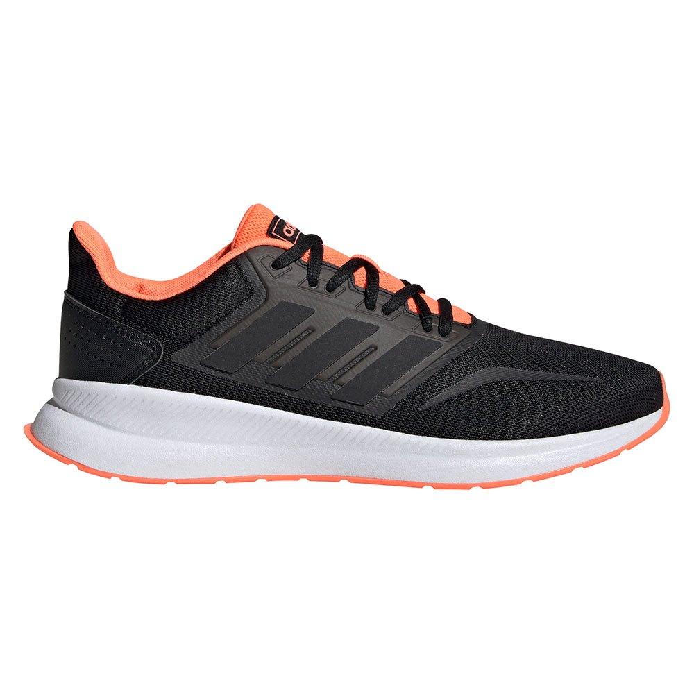 Adidas Runfalcon EU 42 Core Black / Core Black / Signal Coral