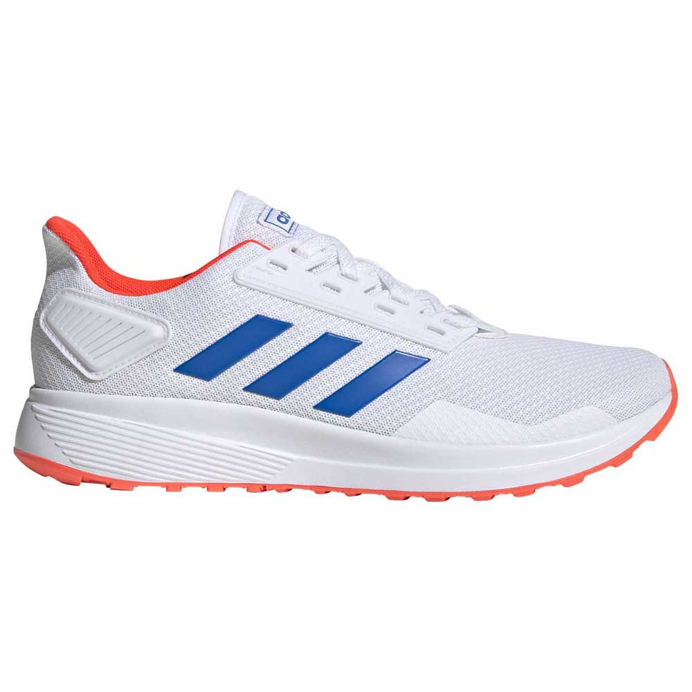 Adidas Duramo 9 EU 45 1/3 Footwear White / Glory Blue / Solar Red