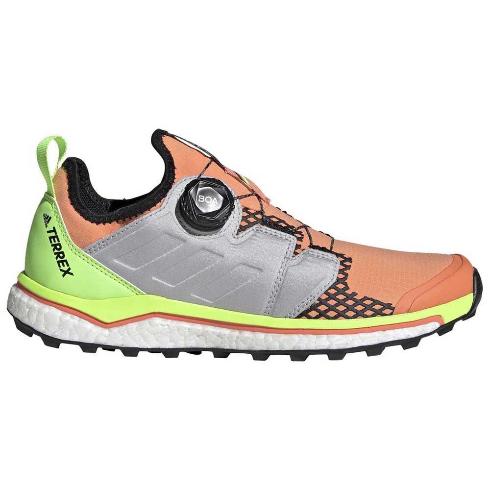 Adidas Terrex Agravic Boa EU 38 2/3 Amber Tint / Grey Two / Signal Green