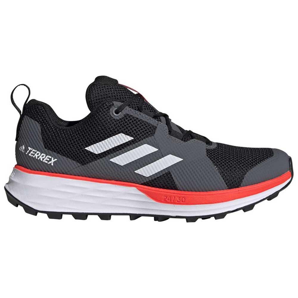 Adidas Terrex Two EU 46 Core Black / Footwear White / Solar Red