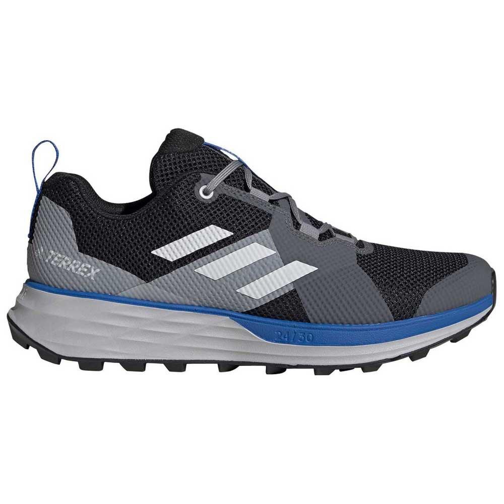 Adidas Terrex Two EU 46 2/3 Core Black / Grey One / Glory Blue