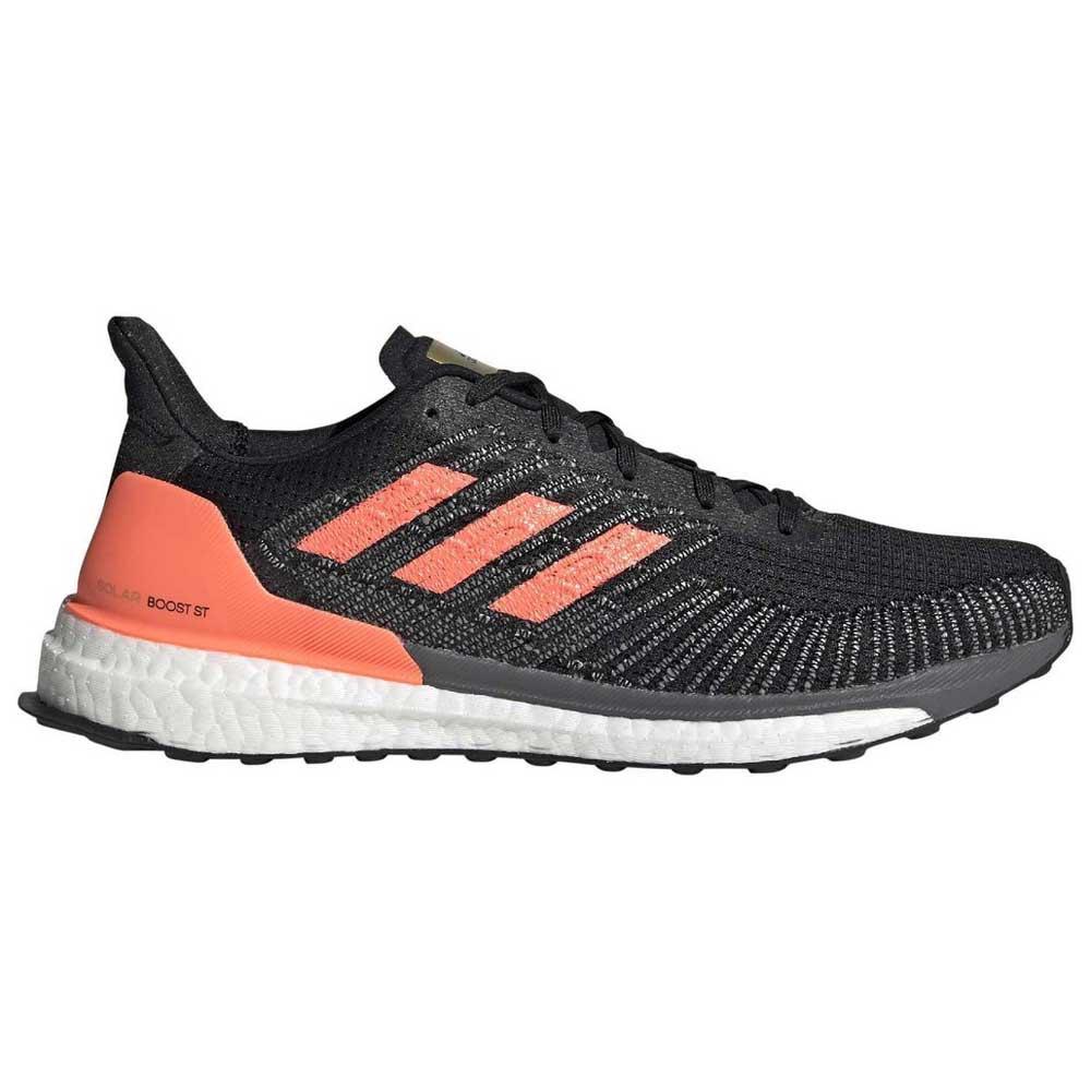Adidas Solar Boost St EU 40 2/3 Core Black / Signal Coral / Gold Metal