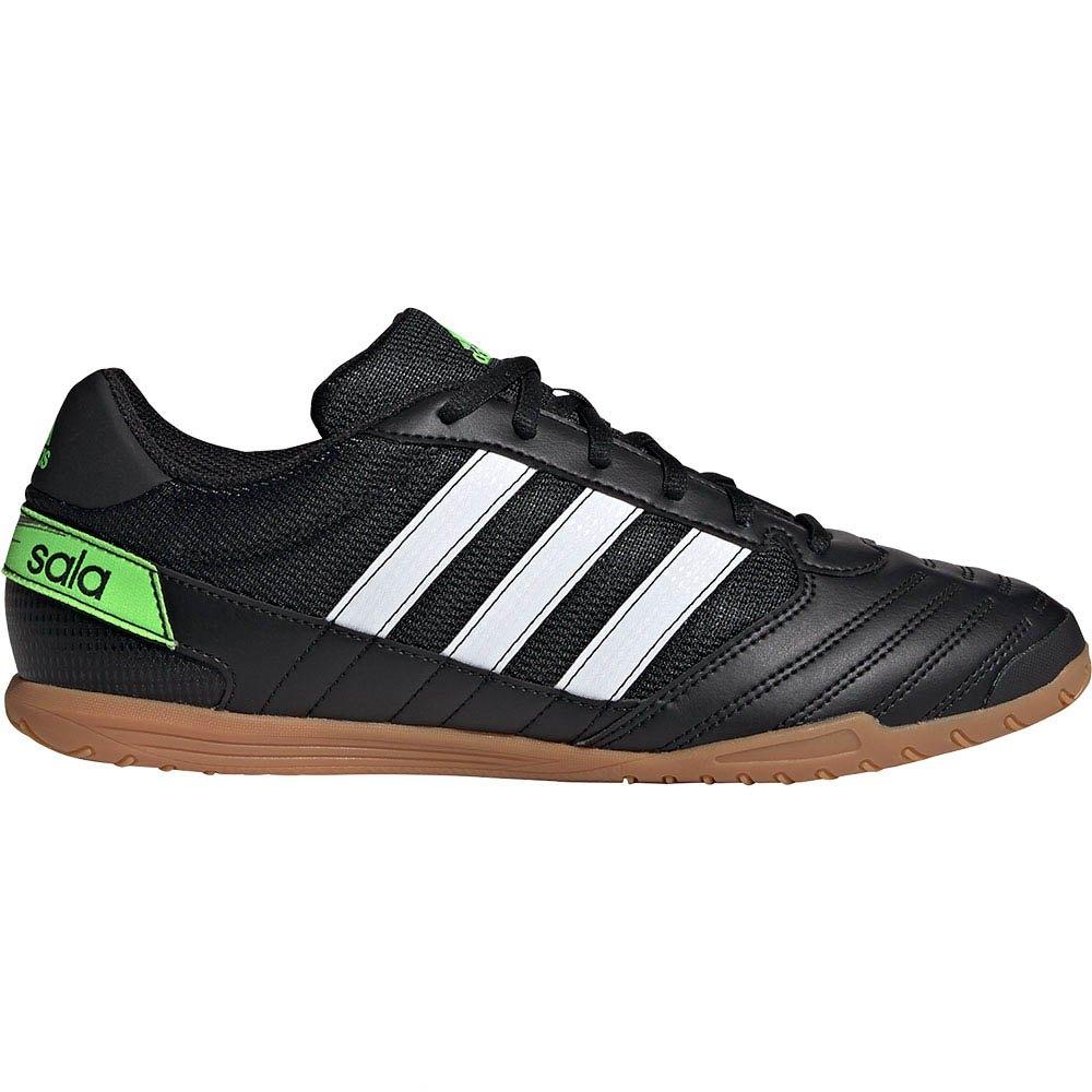 Adidas Chaussures Football Salle Super Sala In EU 44 Core Black / Footwear White / Solar Green