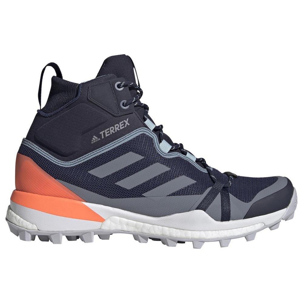 Adidas Terrex Skychaser Lt Mid Goretex EU 39 1/3 Tech Indigo / Dash Grey / Signal Coral