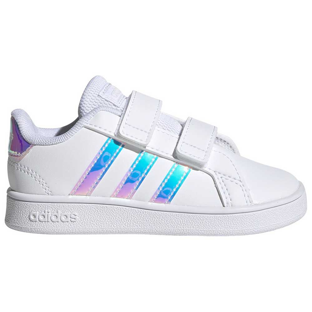 Adidas Grand Court Infant EU 26 1/2 Footwear White / Footwear White / Dash Grey