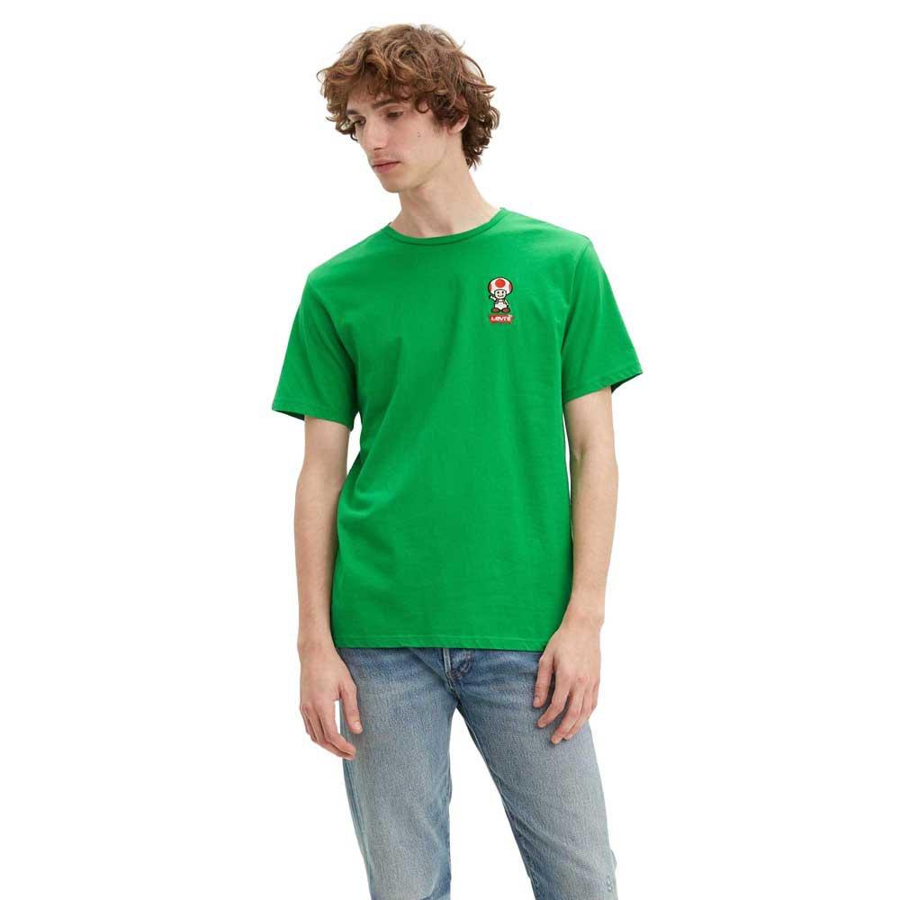 Levi´s ® Super Mario Toad Graphic Crewneck XL Green