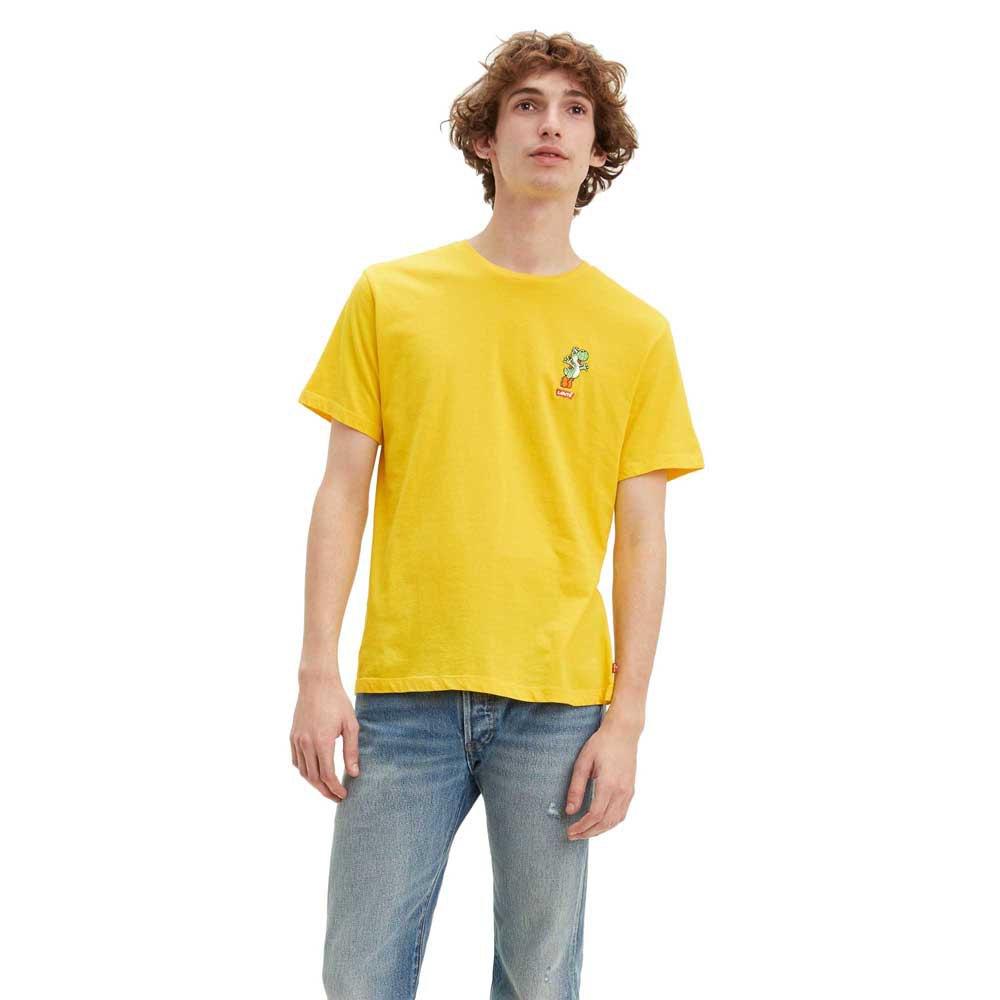 Levi´s ® Super Mario Yoshi Graphic Crewneck L Yellow