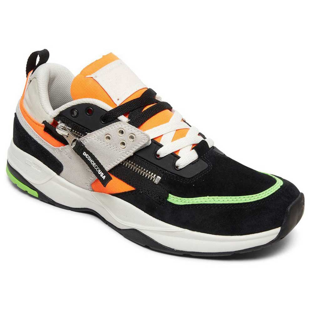 Dc Shoes E.tribeka Zip EU 44 Fluorescent Green / White