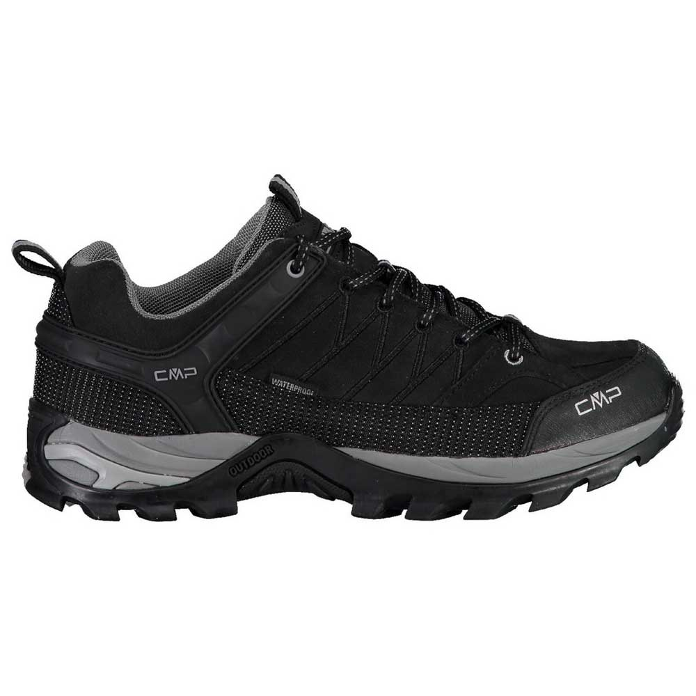 Cmp Rigel Low Wp EU 39 Black / Grey