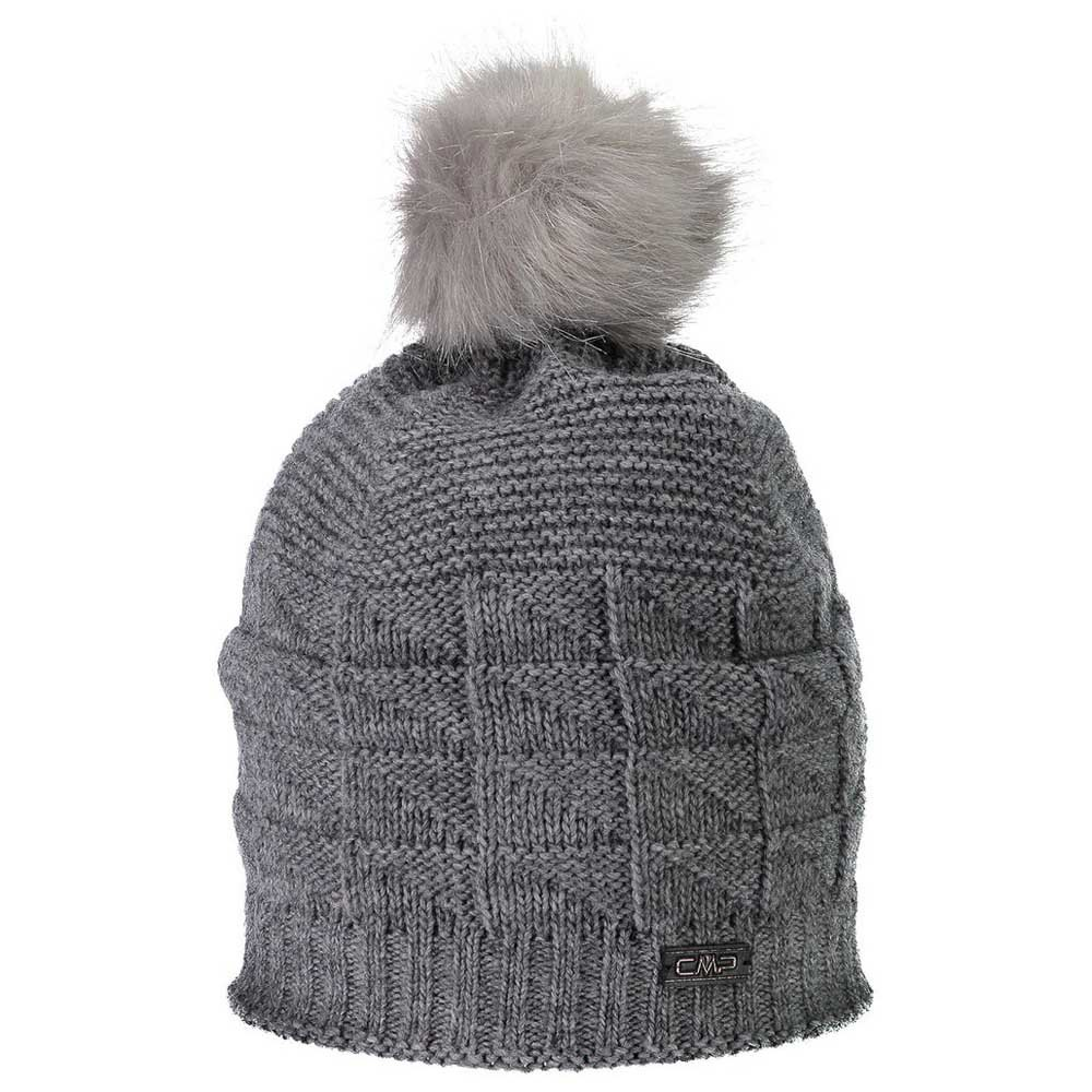 cmp-knitted-hat-one-size-fumo-melange