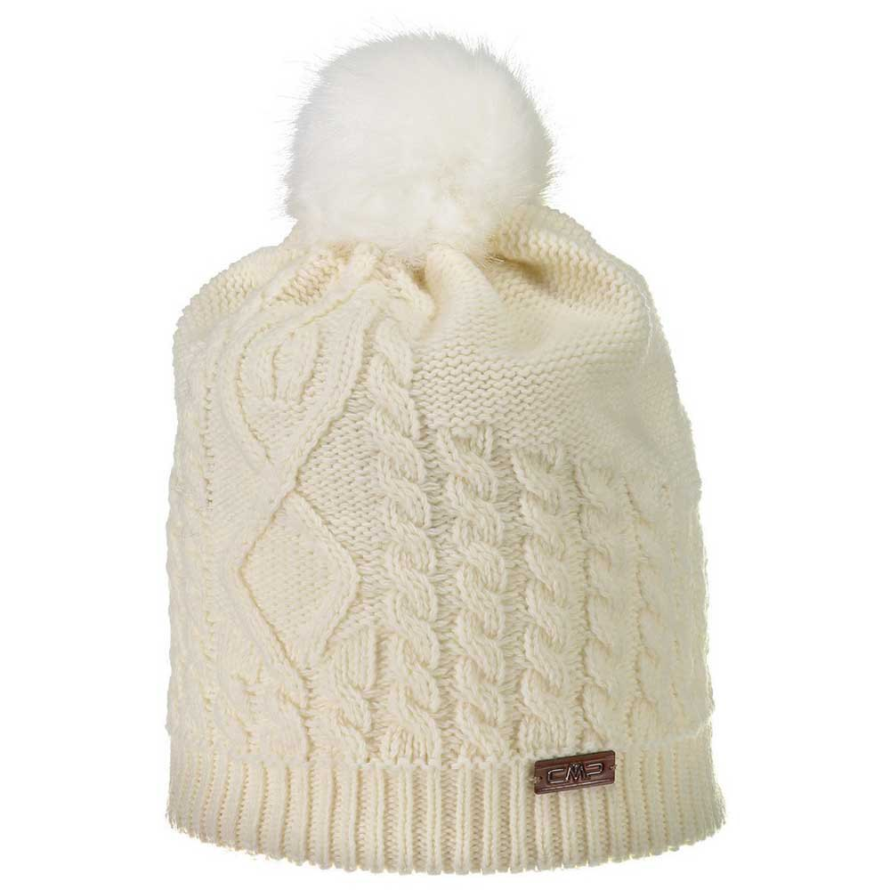 cmp-knitted-hat-one-size-white-gesso