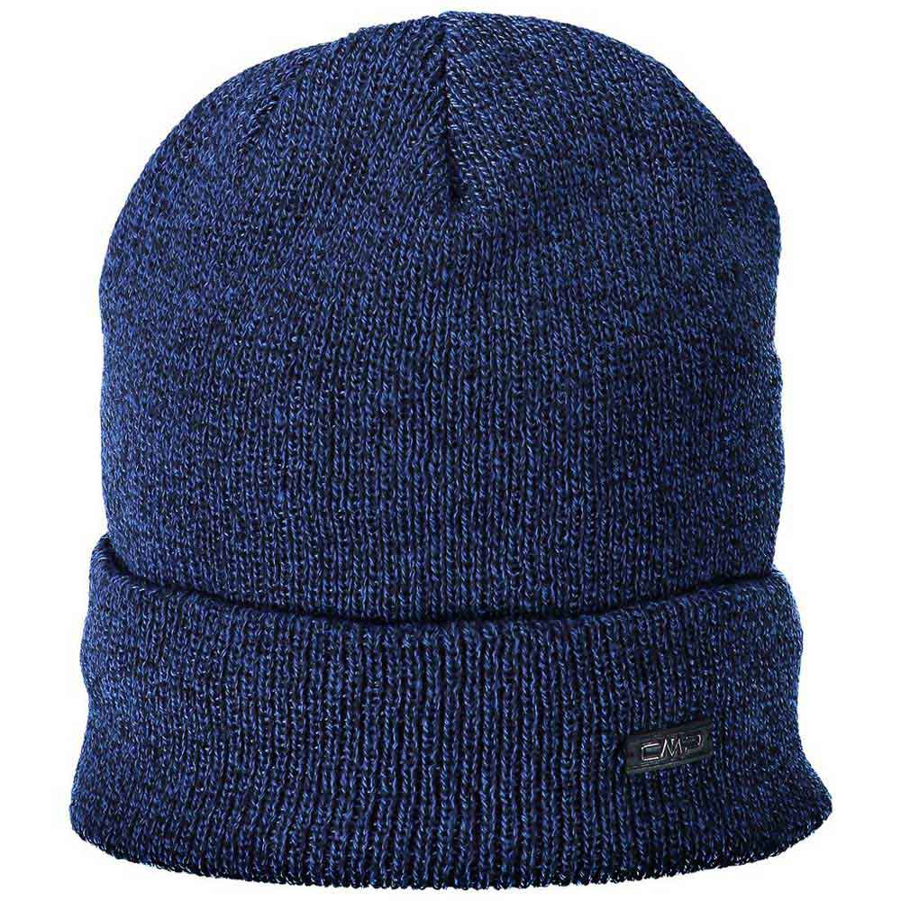 cmp-knitted-hat-one-size-bright-blue-melange