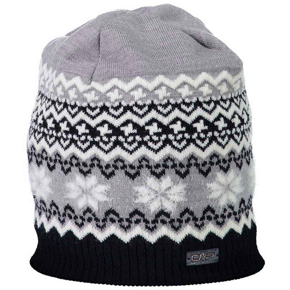 cmp-knitted-hat-one-size-black-blue