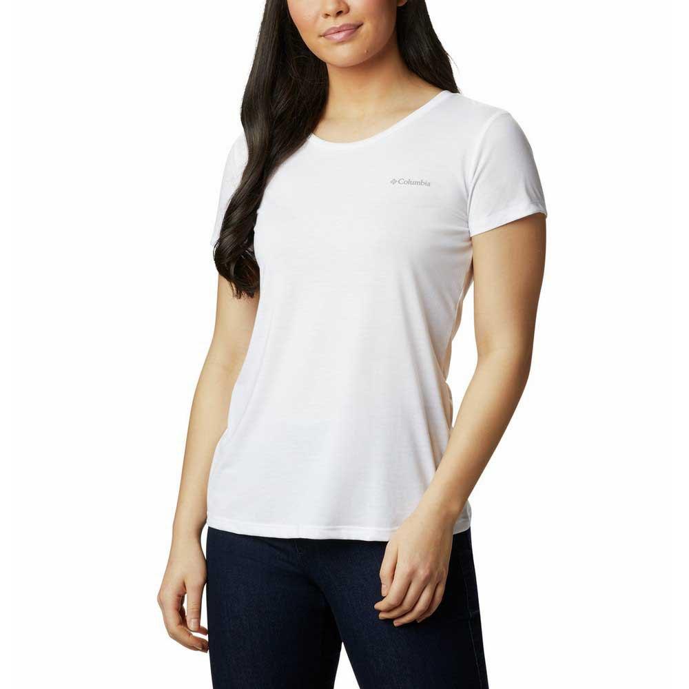 Columbia Lava Lake Ii Short Sleeve T-shirt XL White / CSC Power Brand