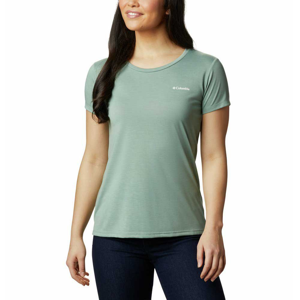 Columbia Lava Lake Ii Short Sleeve T-shirt XL Light Lichen / CSC Power Brand