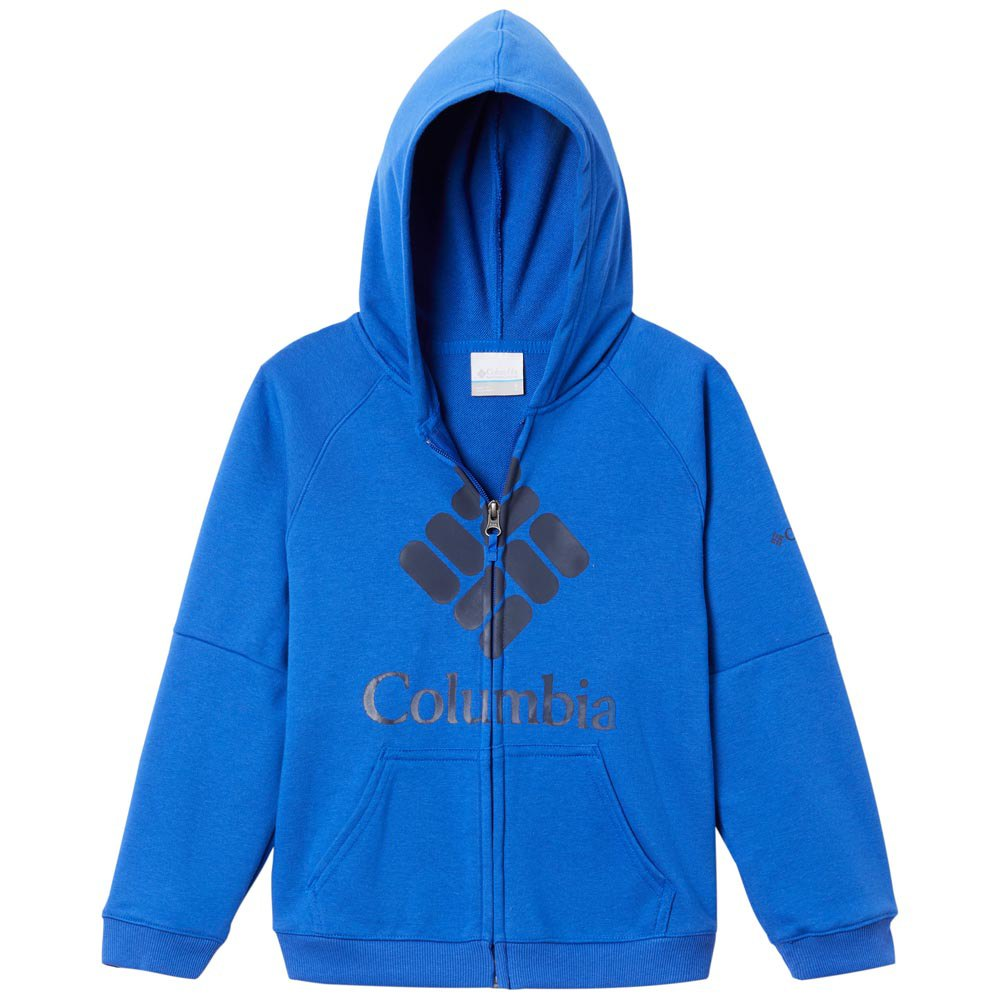 Columbia Branded French Terry XXS Blue