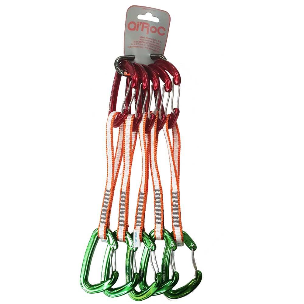 Qi´roc Wifi Pack 5 Set Recto Clip+curvo Clip+aro Dyneema 10x300mm+mini One Size Red / Green