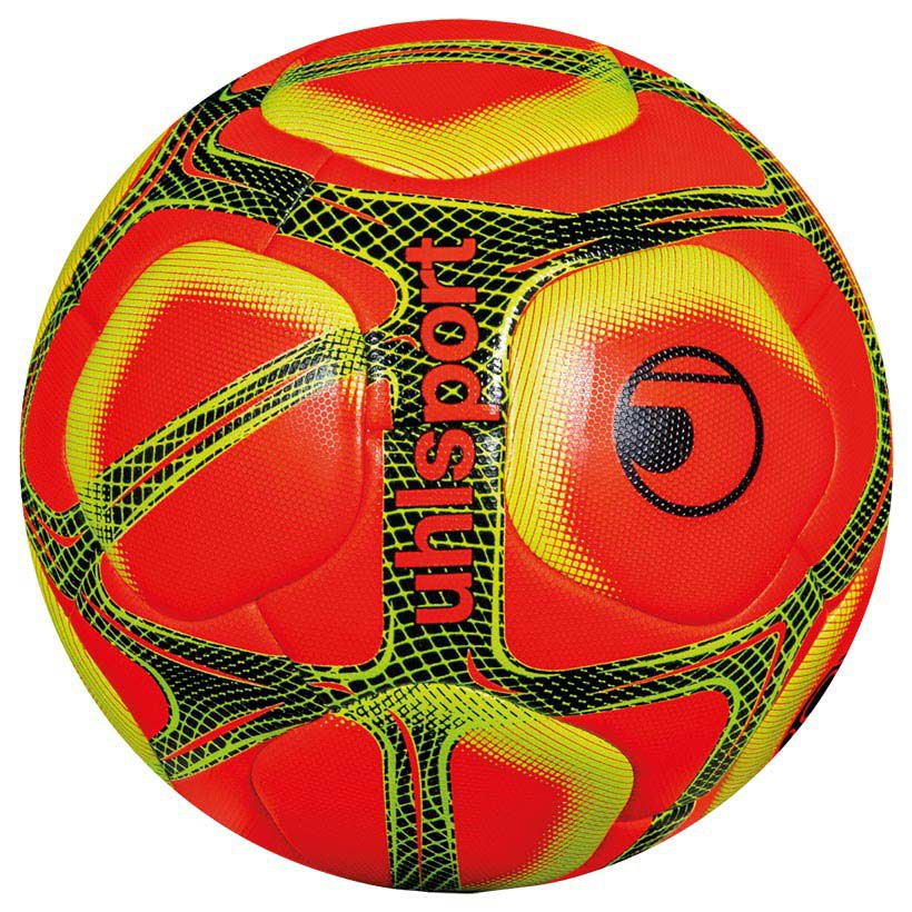 Uhlsport Triompheo Official Winter Football Ball 5 Fluo Red / Fluor Yellow / Black