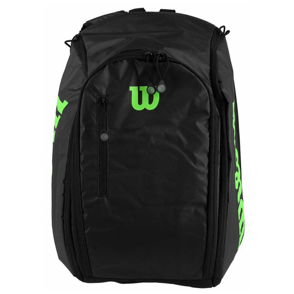 Wilson Tour Backpack One Size Black / Green
