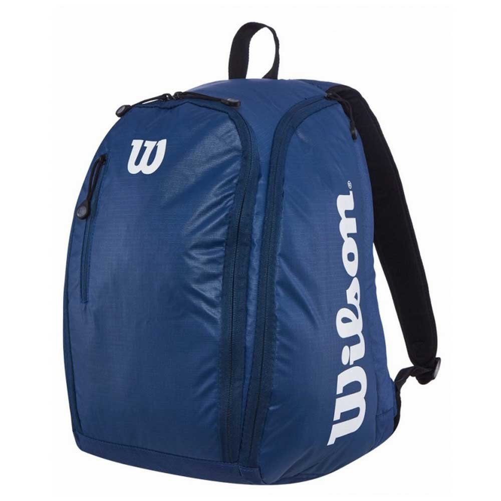 Wilson Tour Backpack One Size Navy / White