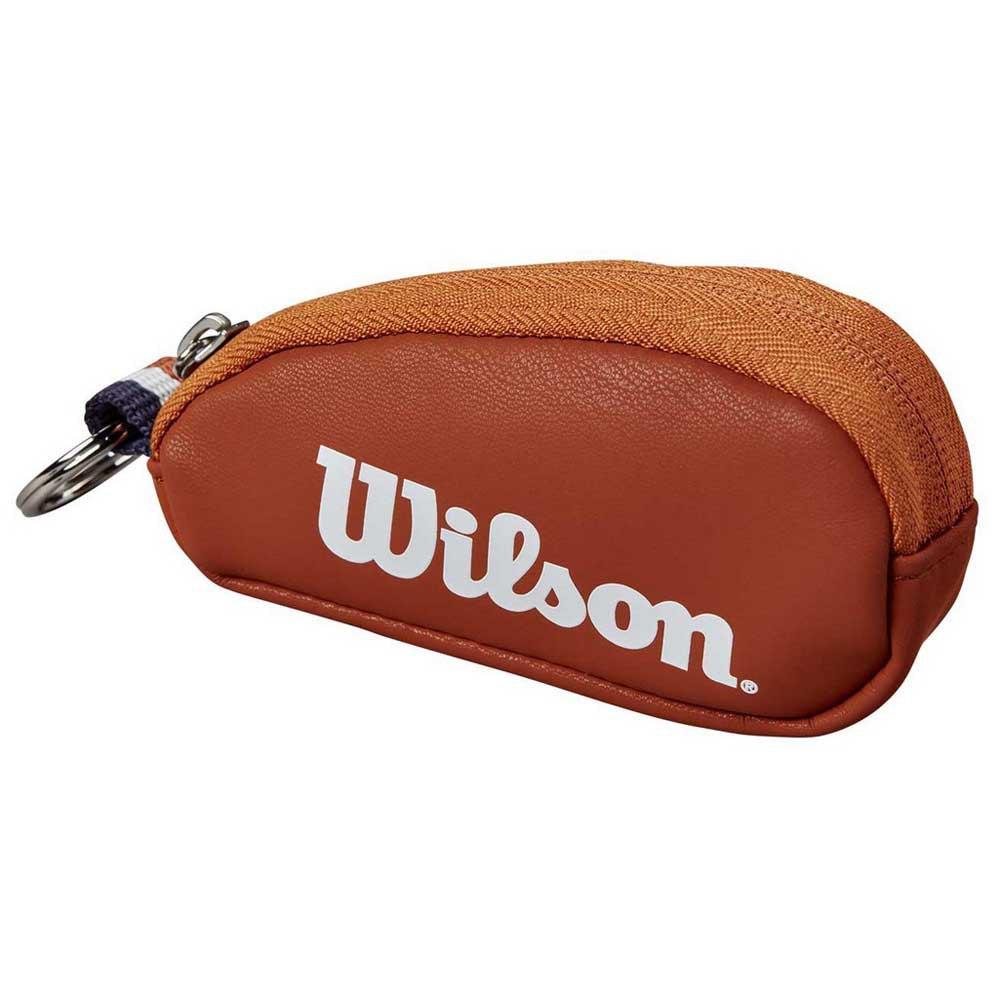 Wilson Mini Racket Holder Roland Garros One Size Clay / White