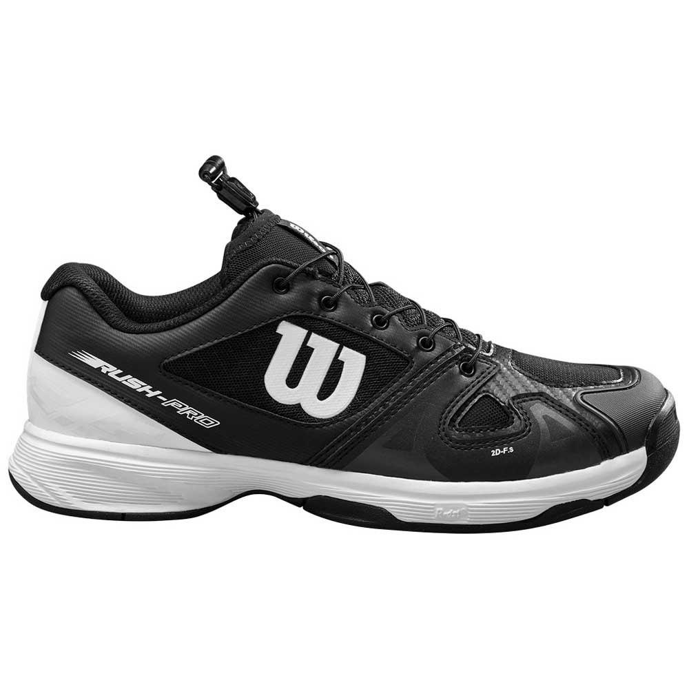 Wilson Zapatillas Rush Pro Junior EU 33 Black / White / Black