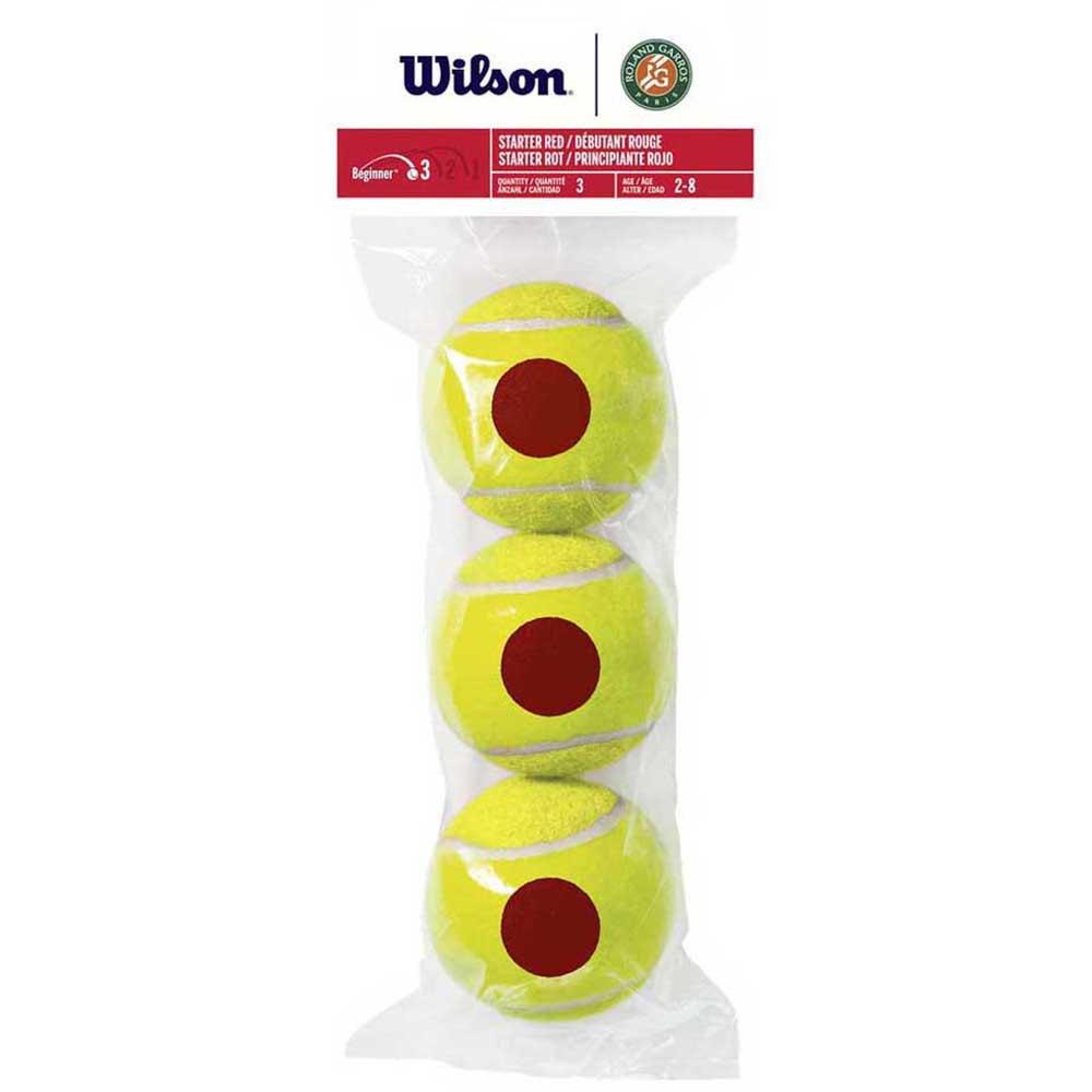 Wilson Roland Garros 3 Balls Red