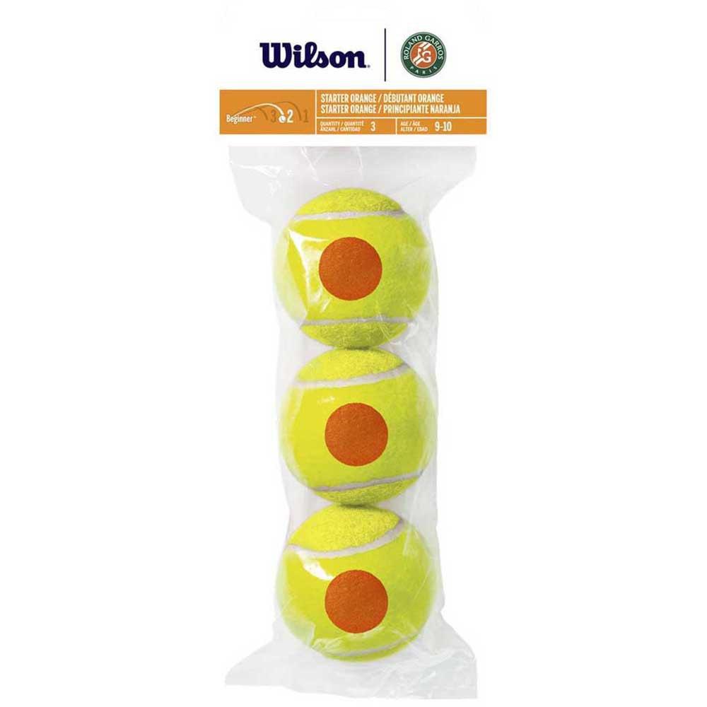 Wilson Roland Garros 3 Balls Orange
