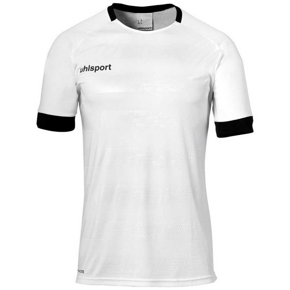 Uhlsport T-shirt Manche Courte Division Ii S White / Black