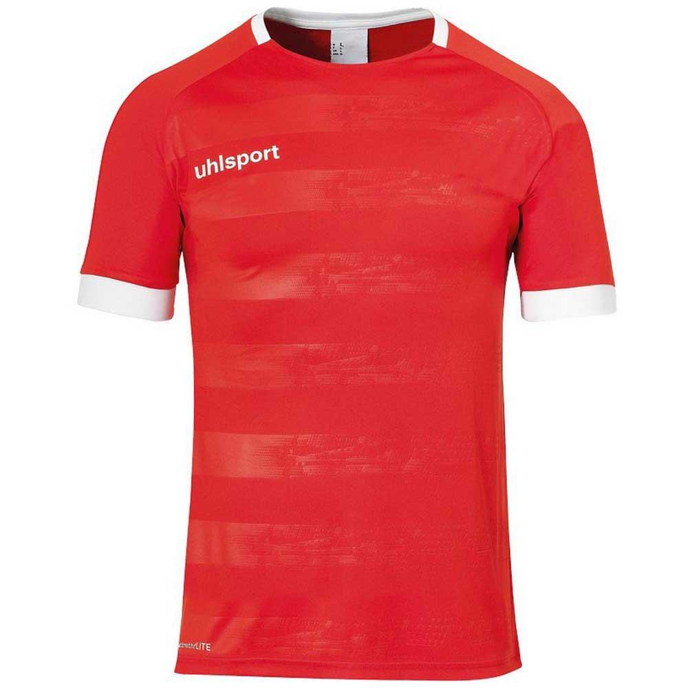 Uhlsport T-shirt Manche Courte Division Ii XXL Red / White