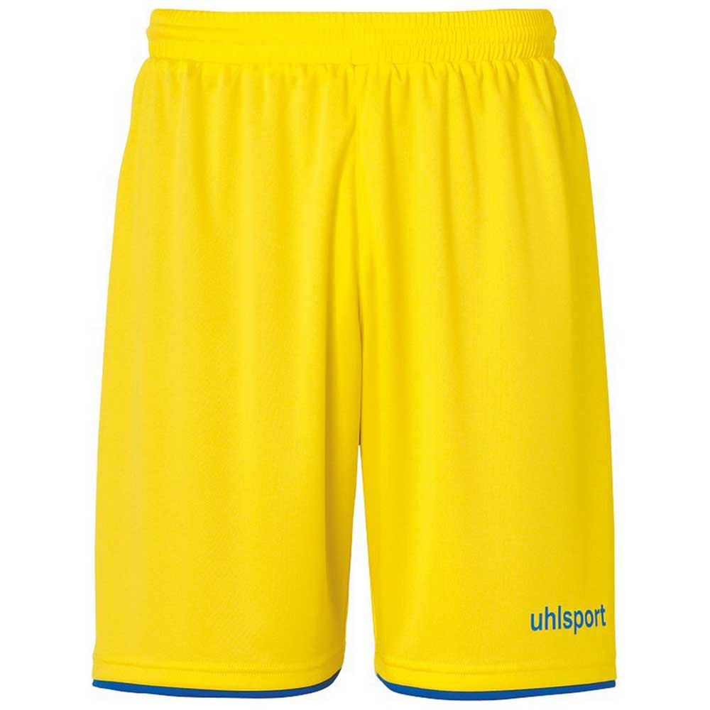 Uhlsport Club S Lime Yellow / Azure Blue