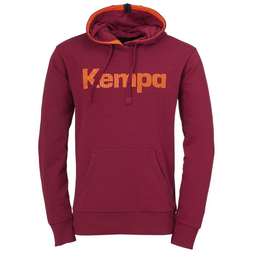 Kempa Sweat À Capuche Graphic S Deep Red
