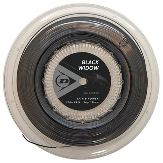 Dunlop Black Widow 200 M 1.31 mm Black