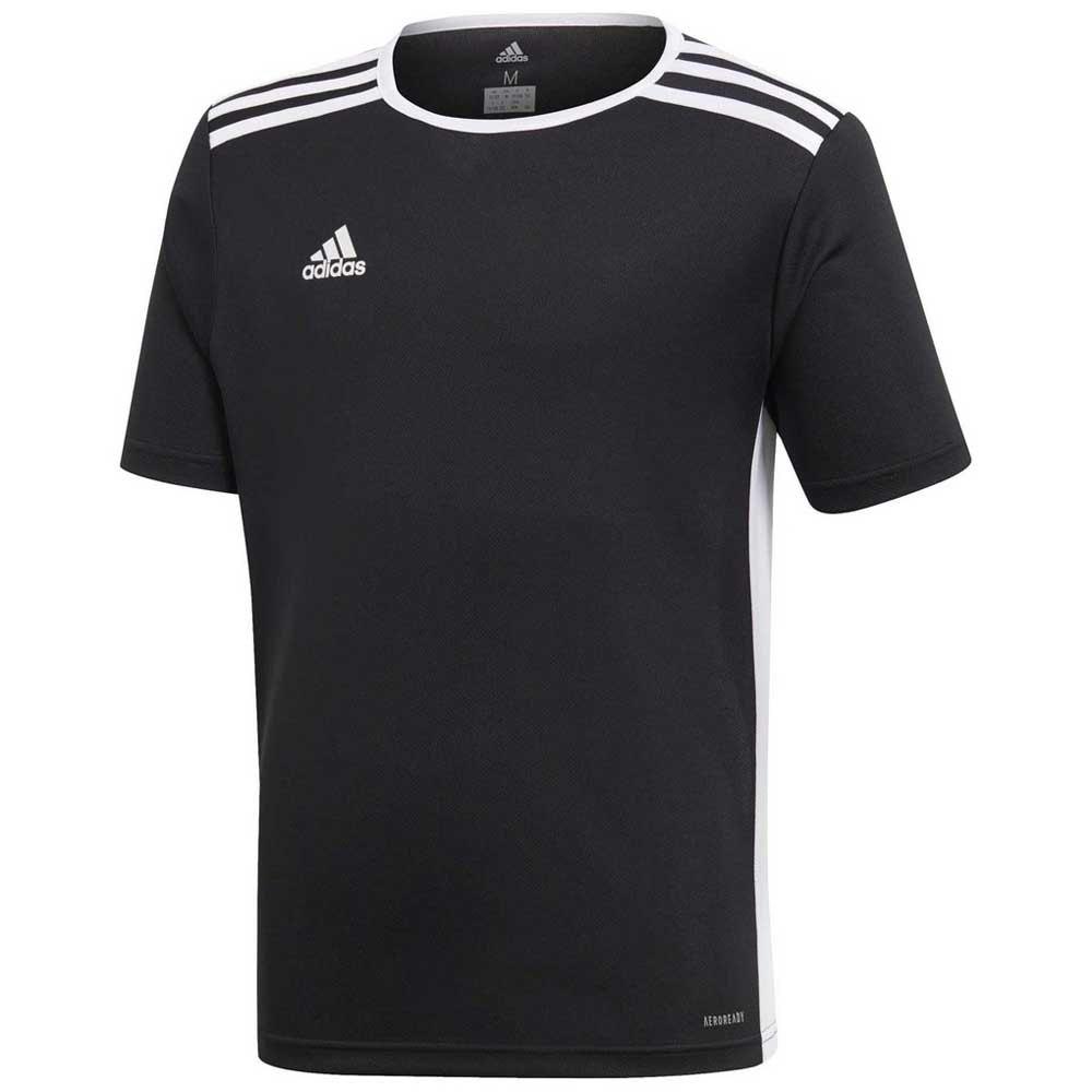 Adidas T-shirt Manche Courte Entrada 18 128 cm Black / White