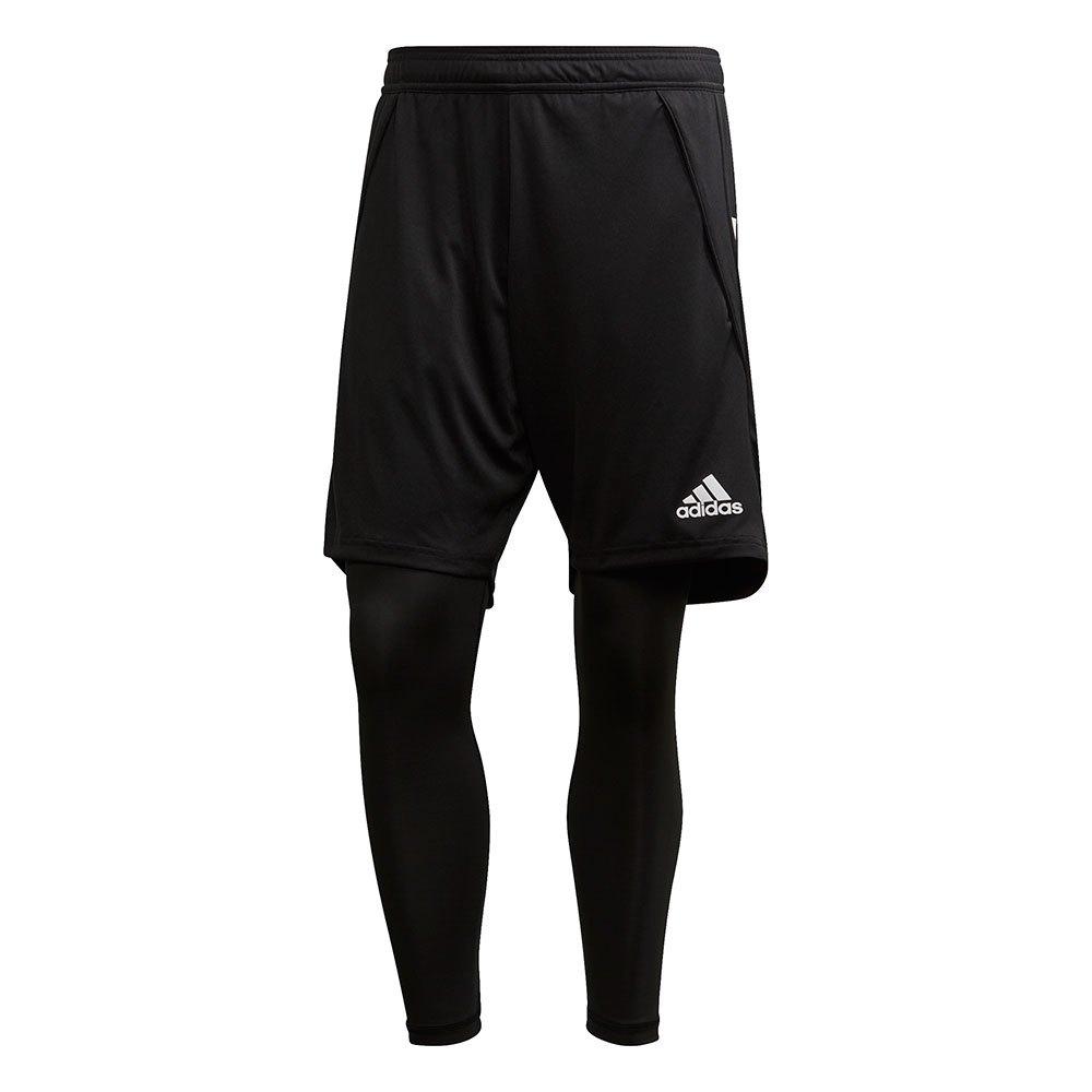 Adidas Short Condivo 20 2 In 1 XS Black / White