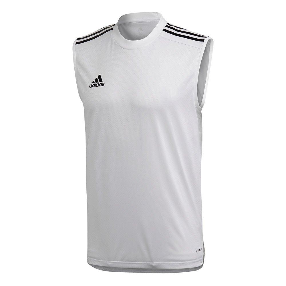 Adidas Condivo 20 Braces T-shirt M White / Black