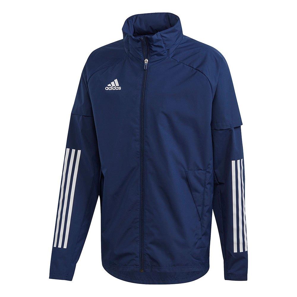 Adidas Veste Condivo 20 All Weather S Navy Blue / White