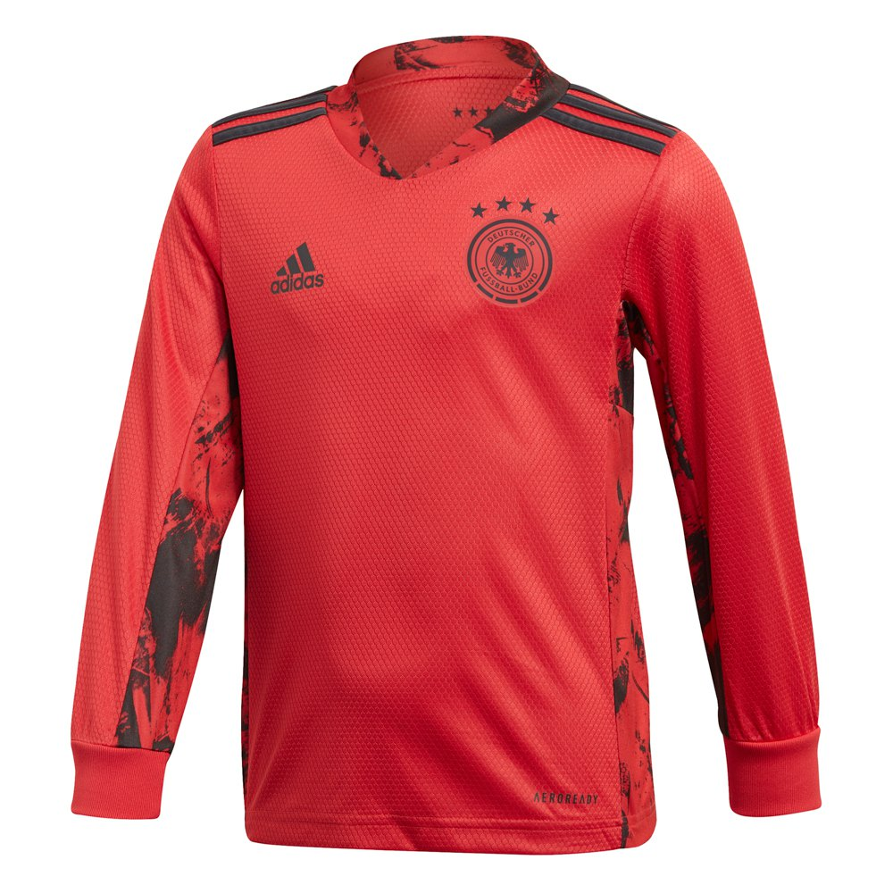 Adidas Germany Home Goalkeeper Mini Kit 2020 92 cm Glory Red