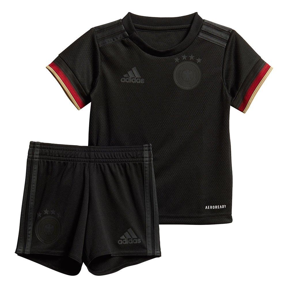 Adidas Germany Away Mini Kit 2020 86 cm Black