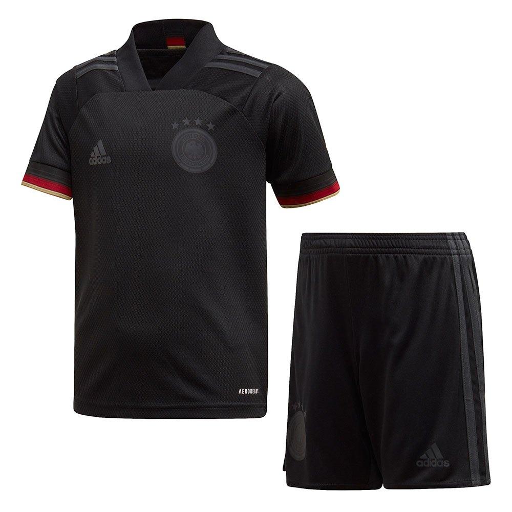 Adidas Ensemble Allemagne Extérieur Mini 2020 92 cm Black