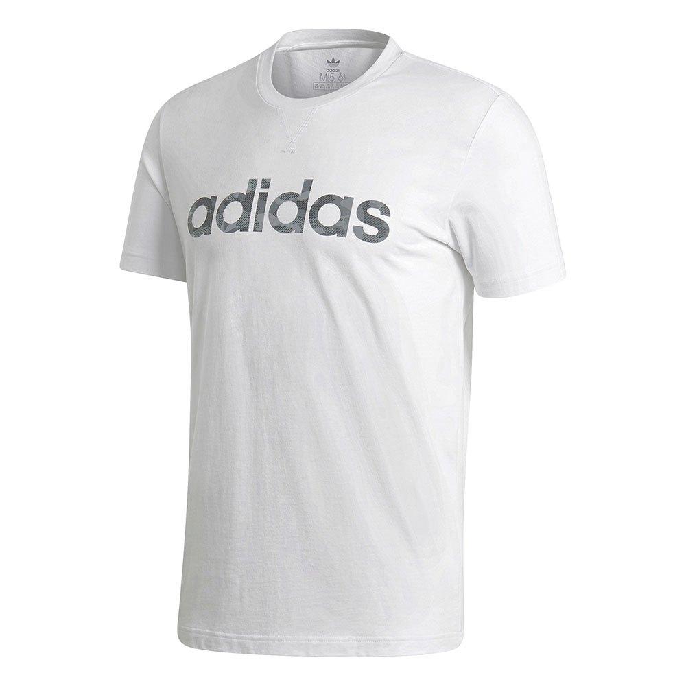 Adidas Essentials Linear Camo S White
